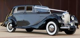 Ruby - Two Tone - 1950 Bentley Coach Built Mark IV,