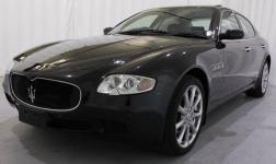 NEW - Black Maserati Quattroporte SEDAN,