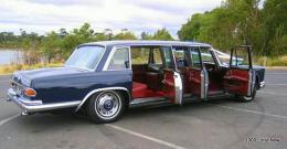 Mercedes MB600 Pullman - 6 pax, Wedding Car Hire in Melbourne