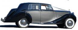 Rolls Royce Silver Wraith 1949 2 tone, Service Limousine