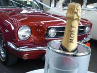 1966 Mustang Convertible, Melbourne wedding Cars