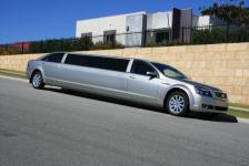 10 Passenger Silver Statesman Limousine,