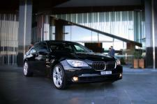 BMW 7 Series - Black NEW F02 Model,