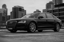 D4 Audi A8 Sedan - Black,