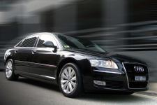 Audi A8 Sedan Black - D3 Quattro,